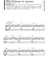 317mb - Merry Christmas Mr Lawrence Piano